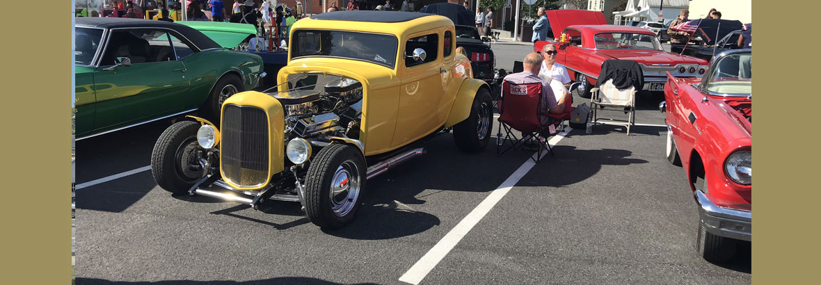 Clayton Car Show at Railroad Days